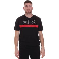 Υφασμάτινα Άνδρας T-shirt με κοντά μανίκια Fila 683184 Μαύρος