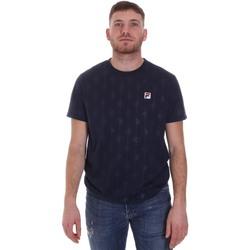Υφασμάτινα Άνδρας T-shirt με κοντά μανίκια Fila 687884 Μπλε