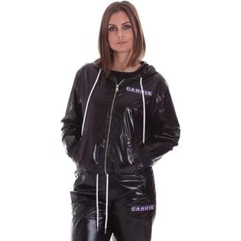 Υφασμάτινα Γυναίκα Σακάκια La Carrie 092M-TJ-410 Μαύρος