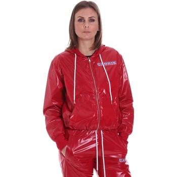 Υφασμάτινα Γυναίκα Σακάκια La Carrie 092M-TJ-430 το κόκκινο
