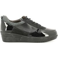 Παπούτσια Γυναίκα Χαμηλά Sneakers Grunland SC2365 Μαύρος
