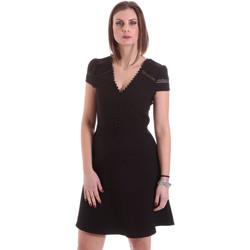 Υφασμάτινα Γυναίκα Κοντά Φορέματα Dixie A529M068 Μαύρος