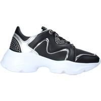 Παπούτσια Γυναίκα Sneakers Manila Grace S013EW Μαύρος