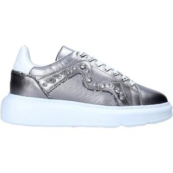 Παπούτσια Γυναίκα Sneakers Manila Grace S016LW Ασήμι