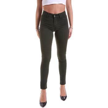 Υφασμάτινα Γυναίκα Παντελόνια Hanny Deep F651YALESA03 Πράσινος