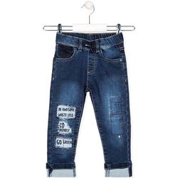 Υφασμάτινα Παιδί Jeans Losan 025-6038AL Μπλε