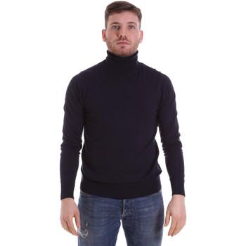 Υφασμάτινα Άνδρας Πουλόβερ John Richmond CFIL-007 Μπλε