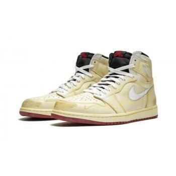 Παπούτσια Ψηλά Sneakers Nike Air Jordan 1 High x Nigel Sylverster Sail/White-Varsity Red-Reflect Silver