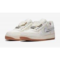 Παπούτσια Χαμηλά Sneakers Nike Air Force 1 x Travis Scott Sail Sail/Sail