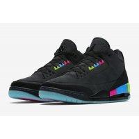 Παπούτσια Χαμηλά Sneakers Nike Air Jordan 3 x Quai 54 Black/Electric Green-Infrared 23-Black