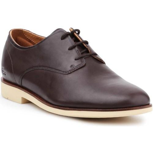 Παπούτσια Άνδρας Derby Lacoste Crosley Prem116 1 CAM 7-31CAM0110176 brown
