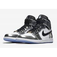 Παπούτσια Ψηλά Sneakers Nike Air Jordan 1 High Pass The Torch CHROME/BLACK-WHITE-TURBO GREEN
