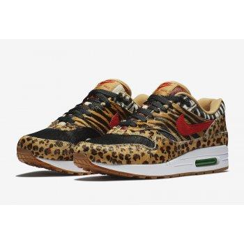 Παπούτσια Χαμηλά Sneakers Nike Air Max 1 Animal Wheat/Bison-Classic Green-Sport Red