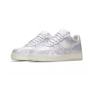 Παπούτσια Χαμηλά Sneakers Nike Air Force 1 Low x CLOT Premium White/White-White