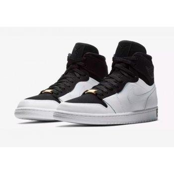 Παπούτσια Ψηλά Sneakers Nike Air Jordan 1 High Equality Black/Black/White-Metallic Gold