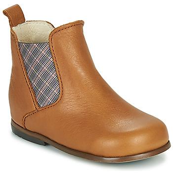 Παπούτσια Κορίτσι Μπότες Little Mary ARON Brown
