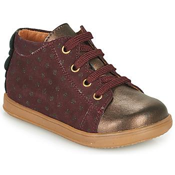 Παπούτσια Κορίτσι Χαμηλά Sneakers Little Mary CLELIE Bordeaux