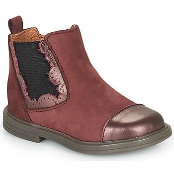 Παπούτσια Κορίτσι Μπότες Little Mary ELVIRE Bordeaux