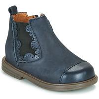 Παπούτσια Κορίτσι Μπότες Little Mary ELVIRE Μπλέ