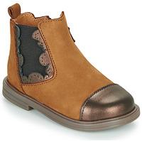 Παπούτσια Κορίτσι Μπότες Little Mary ELVIRE Brown