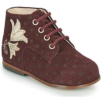 Παπούτσια Κορίτσι Ψηλά Sneakers Little Mary MEIGE Bordeaux