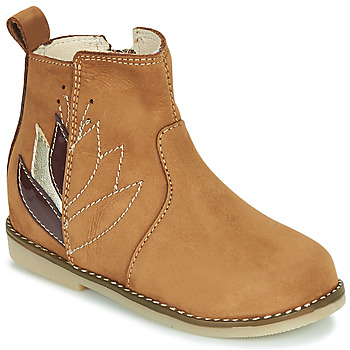 Παπούτσια Κορίτσι Μπότες Little Mary KARRY Brown