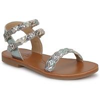 Παπούτσια Κορίτσι Σανδάλια / Πέδιλα Pom d'Api KOH BI WOVEN Camouflage / Glitter