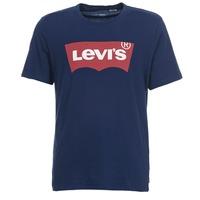 Υφασμάτινα Άνδρας T-shirt με κοντά μανίκια Levi's GRAPHIC SET IN Marine