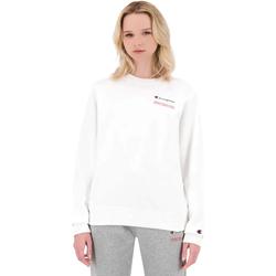 Υφασμάτινα Γυναίκα Φούτερ Champion 114712 λευκό