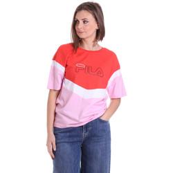 Υφασμάτινα Γυναίκα T-shirt με κοντά μανίκια Fila 683162 το κόκκινο