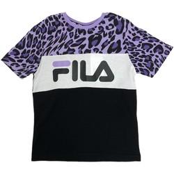 Υφασμάτινα Παιδί T-shirts & Μπλούζες Fila 688169 Μαύρος