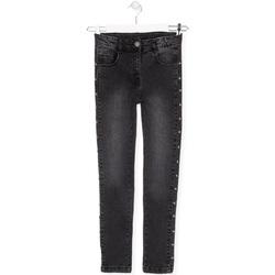 Υφασμάτινα Παιδί Jeans Losan 024-9000AL Μαύρος
