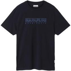 Υφασμάτινα Άνδρας T-shirt με κοντά μανίκια Napapijri NP0A4EOB Μπλε