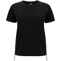 Υφασμάτινα Γυναίκα T-shirt με κοντά μανίκια Freddy F0WSDT5 Μαύρος