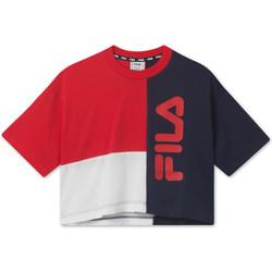 Υφασμάτινα Παιδί T-shirt με κοντά μανίκια Fila 687998 το κόκκινο