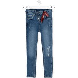 Υφασμάτινα Παιδί Jeans Losan 024-9003AL Μπλε