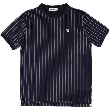Υφασμάτινα Άνδρας T-shirts & Μπλούζες Fila 684366 Μπλε