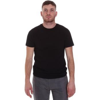Υφασμάτινα Άνδρας T-shirt με κοντά μανίκια Sseinse MI1692SS Μαύρος