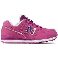 Παπούτσια Παιδί Χαμηλά Sneakers New Balance NBGC574MTP Ροζ