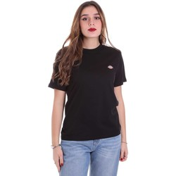Υφασμάτινα Γυναίκα T-shirt με κοντά μανίκια Dickies DK0A4TMYBLK1 Μαύρος