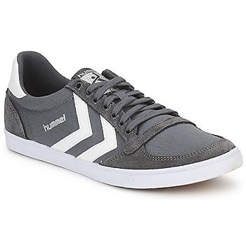 Παπούτσια Χαμηλά Sneakers Hummel TEN STAR LOW CANVAS Grey / Άσπρο