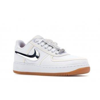 Παπούτσια Χαμηλά Sneakers Nike Air Force 1 Low Travis Scott White White/White-White