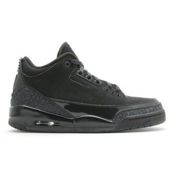Παπούτσια Χαμηλά Sneakers Nike Air Jordan 3 Black Cat Black/Black-Black
