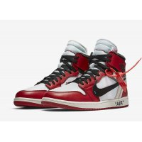Παπούτσια Ψηλά Sneakers Nike Air Jordan 1 High x Off-White Chicago White/Black-Varsity Red