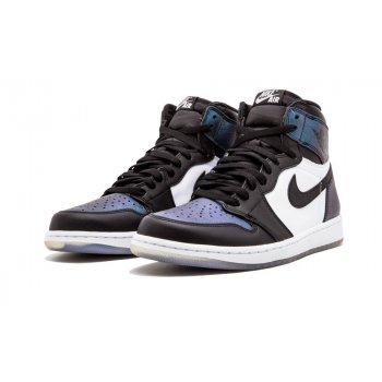 Παπούτσια Χαμηλά Sneakers Nike Air Jordan 1 High All Star Chameleon Black/Black-Metallic Silver-White