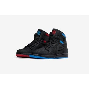 Παπούτσια Ψηλά Sneakers Nike Air Jordan 1 High Quai 54 Black/University Red/Game Royal