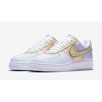 Παπούτσια Χαμηλά Sneakers Nike Air Force 1 Low Easter Titanium/Lime Ice-Storm Pink