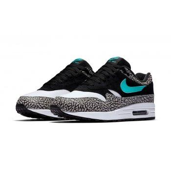 Παπούτσια Χαμηλά Sneakers Nike Air Max 1 Atmos Elephant 2017 Black/Clear Jade-White