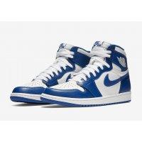Παπούτσια Ψηλά Sneakers Nike Air Jordan 1 High Storm Blue White/Storm Blue