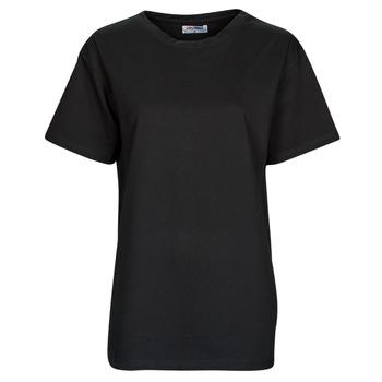 Υφασμάτινα Γυναίκα T-shirt με κοντά μανίκια Yurban OKIME Black